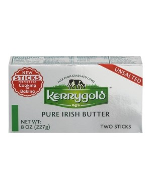 Kerrygold Pure Irish Butter UNSALTED sticks 8oz