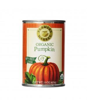 Farmers Organic Pumpkin 15 oz