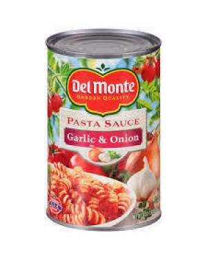 DEL MONTE SPAG. GARLIC/ONION 24 OZ