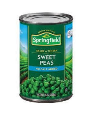 Springfield Tender Sweet Peas 15 OZ