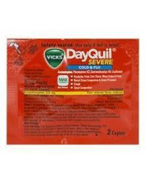 Dayquil Severe Cold Flu Pouch