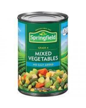 Springfield Mixed Vegetables 16OZ