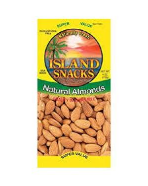 Island Snacks Almonds 2.25oz