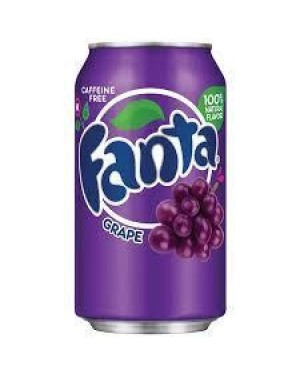 Fanta Grape 12oz Can