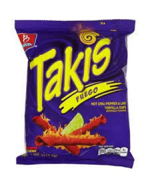 Takis Fuego Hot Chili Pepper & Lime
