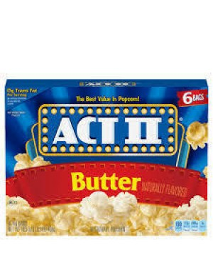Act II Popcorn Butter
