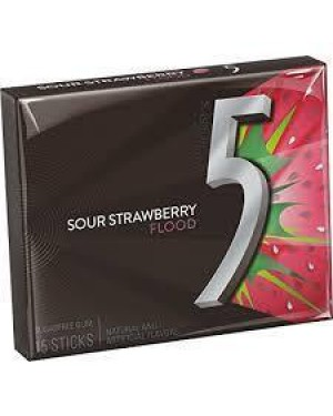 5 Gum Strawberry