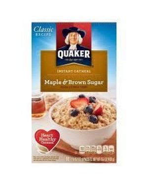 Quaker Instant Maple Brown Sugar