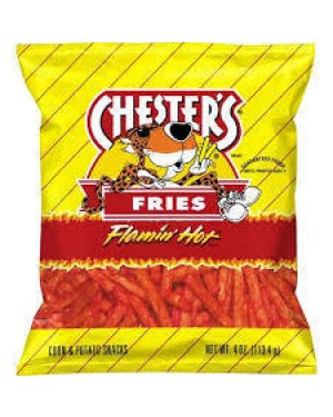 Chester's Fries Flaming