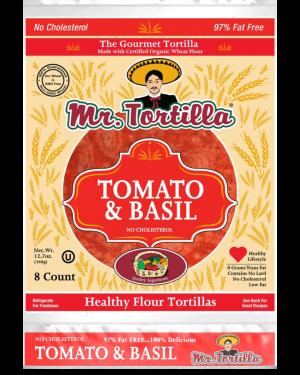 Mr. Tortilla Tomato&Basil 8 count