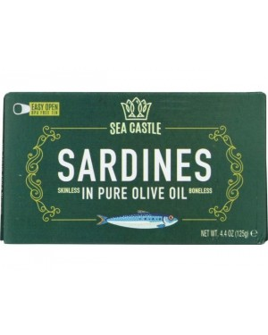 Sea Castle Sardines Olive Oil 4.4oz