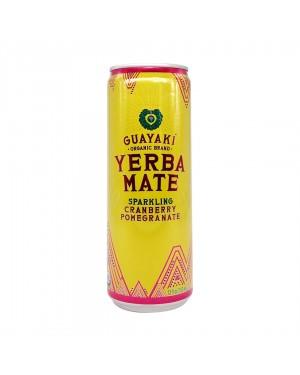 Guayaki Yerba Mate Sparkling Cranberry Pomegranate 12oz