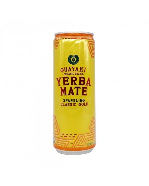 Guayaki Yerba Mate Sparkling Classic Gold 12oz