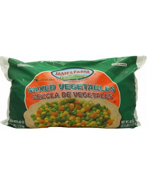 James Farms Frozen Mixed Vegetables 2.5lb