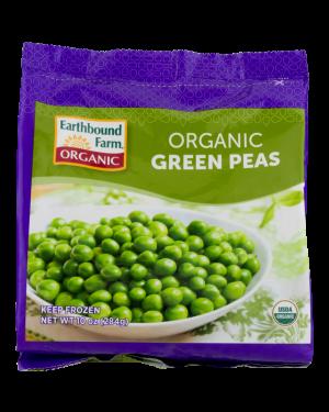 Earthbound Organic Green Peas 10oz
