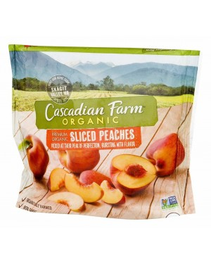 Cascadian Farm Organic Sliced Peaches 10oz