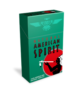 American Spirit Dark Green