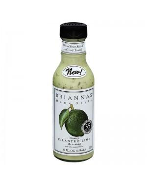 Briannas Creamy Cilantro Lime 12oz
