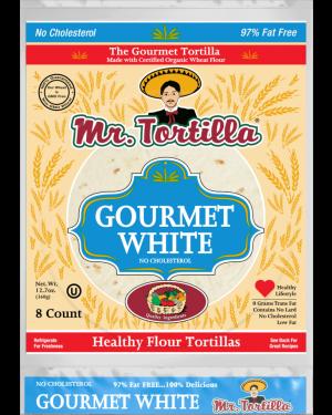 Mr. Tortilla Gourmet White 8 count