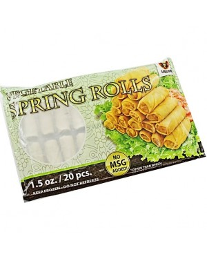 Gokujou Vegetable Spring Rolls 20pcs