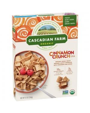 Cascadian Farm Cinnamon Crunch 9.2oz