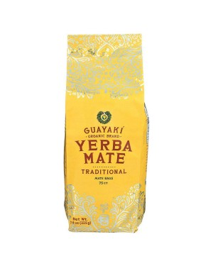 Guayaki Yerba Mate Traditional Tea 75ct