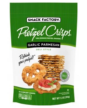 Snack Factory Petzel Chips Garlic Parmesan