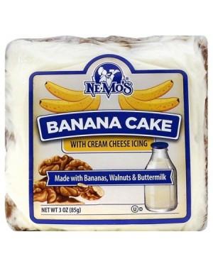 Ne-mo`s Banana Cake 3oz