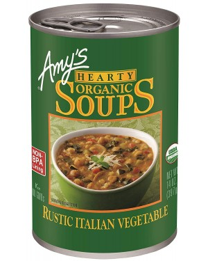Amy's Rustic Italian Vegetable Soup 14 oz
