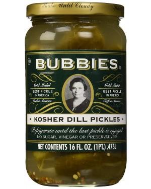 Bubbies Kosher Dills Pickles 16 oz