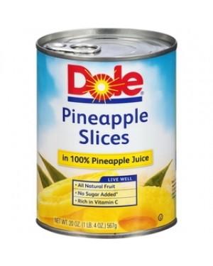 DOLE PINEAPPLE Slices 20 OZ