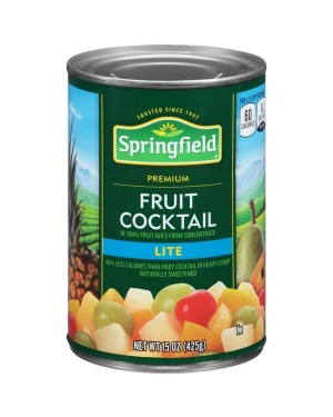 Springfield Fruit Cocktail lite 16OZ