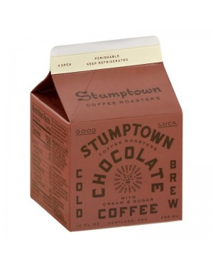 Stumptown Chocolate Cold Brew Coffee 10oz