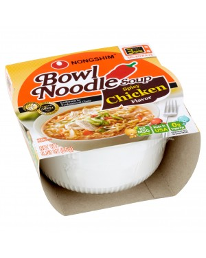 Nongshim Spicy Chicken Noodle Bowl 3.03oz