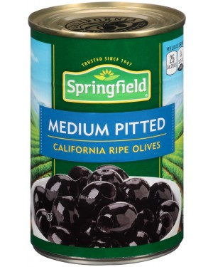 Springfield Medium Pitted California Ripe Olives 6oz