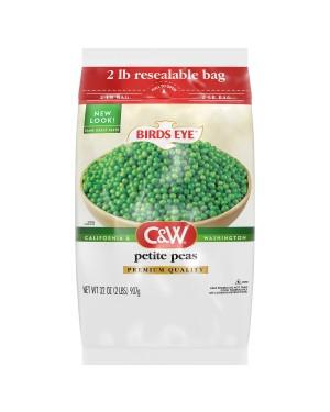 Birds Eye C&W Petite Peas Premium Quality 2lb