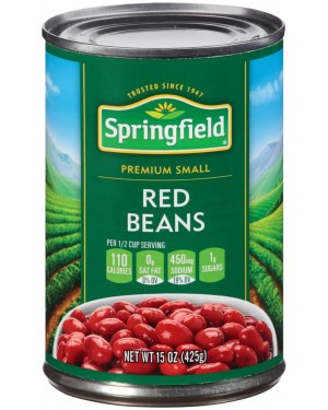Springfield Red Beans 15oz