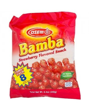 Osem Bamba Strawberry 8Pk