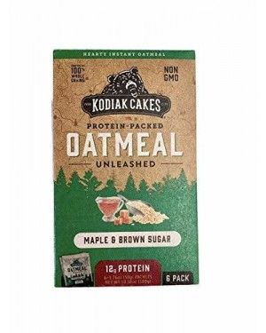 Kodiak Cakes Oatmeal Maple & Brown Sugar 6pk