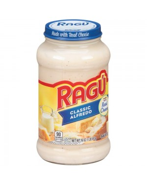 Ragu Classic Alfredo made with real cheese 16oz