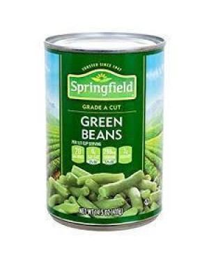 Springfield Green Beans Cut 14.5 OZ
