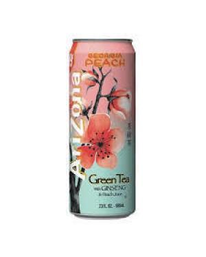 Arizona Green Tea w/ Ginseng & Peach 23oz