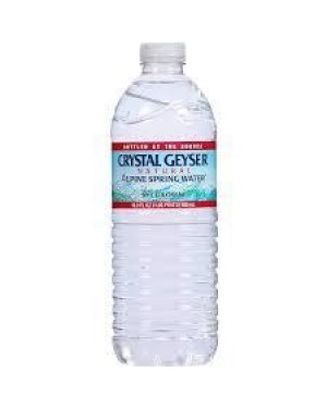 CRYSTAL GEYSER WATER 16.9FL OZ