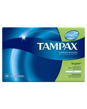 Tampax Tampons Super 10ct