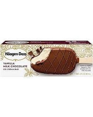Haagen-Dazs Bar Vanilla Milk Chocolate