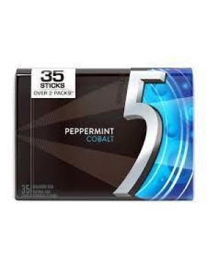 5 Gum Peppermint Cobalt