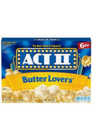 Act II Popcorn Butter Lovers