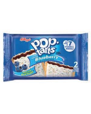 Kellogs Pop Tart Blueberry 2pk