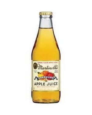 Martinelli's Sparkling Apple Juice 10 oz Glass Bottle