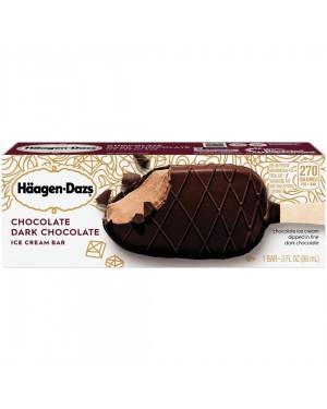 HAAGEN-DAZS DARK CHOCOLATE BAR